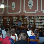 Actividad en la biblioteca